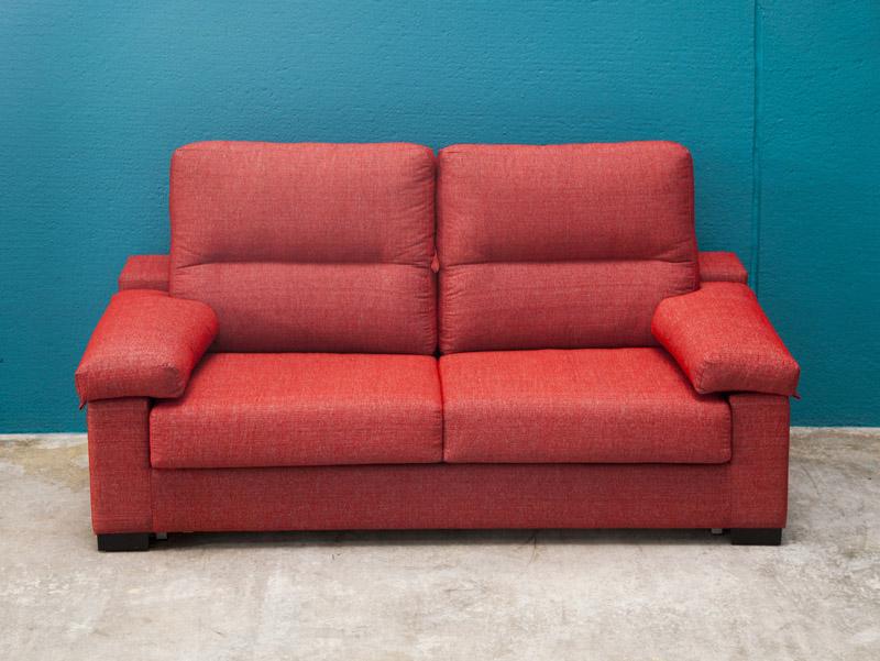 Sofas cama rojo tay - Tienda muebles terrassa ...