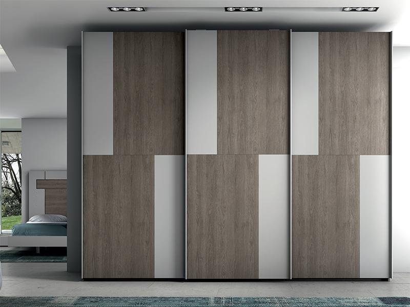 Armarios con puerta corredera armario 3 puertas correderas mod fv296 - Tienda muebles terrassa ...