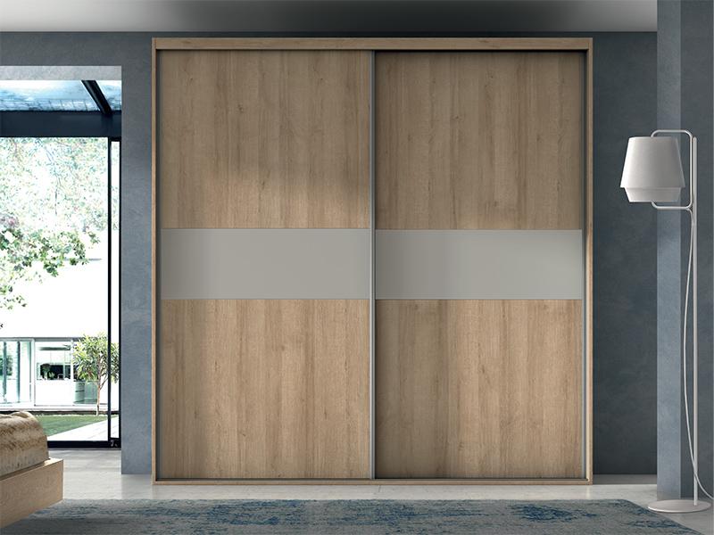 Armarios con puerta corredera armario 2 puertas correderas marco - Tienda muebles terrassa ...