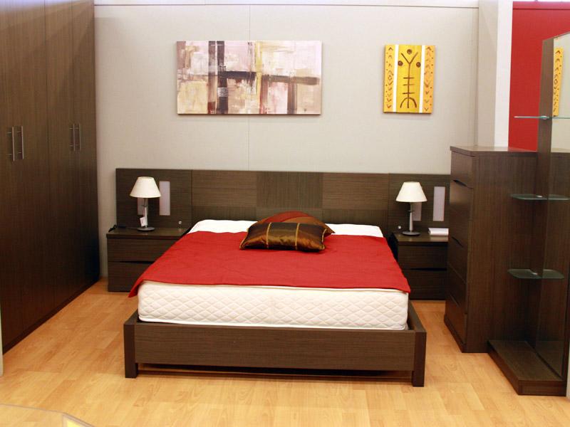 Outlet dormitorio madera mod gris - Tienda muebles terrassa ...
