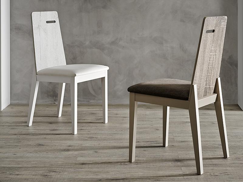 Mesas y sillas silla melamina - Tienda muebles terrassa ...