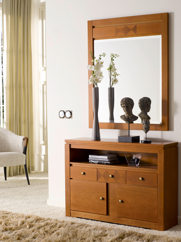 Recibidores recibidor clasico mod 44d - Tienda muebles terrassa ...